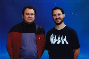 Wil Wheaton<br />- Wesley Crusher, Star Trek: The Next Generation<br />- Himself, The Big Bang Theory